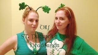 DIY St.Patrick's Day Head Bands Thumbnail