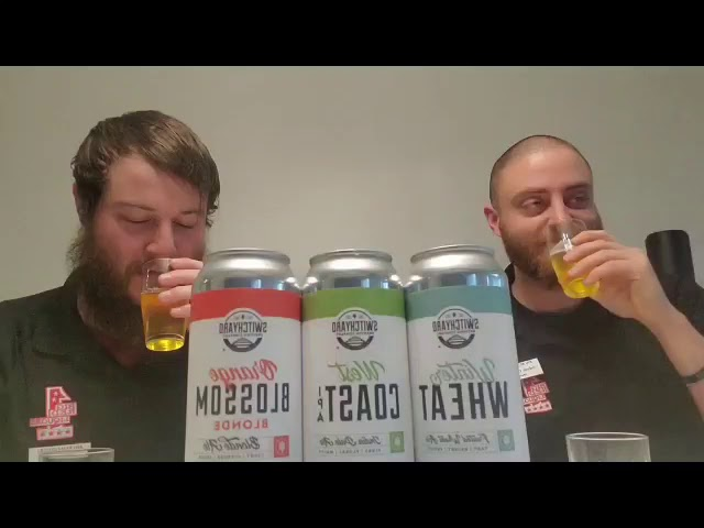Switchyard Brewing Company Beer Review