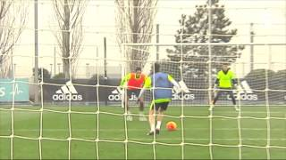 We think Isco scored the coolest goal in training today...
