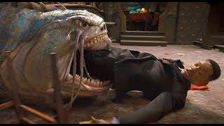 """Агент Джей против огромной инопланетной рыбы - """"Люди в чёрном 3"""" отрывок из фильма"""