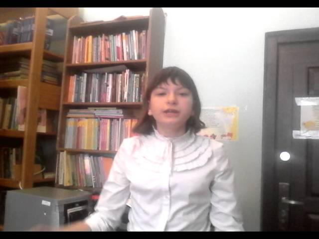 Изображение предпросмотра прочтения – МиланаПанова читает произведение «Буря» С.А.Есенина