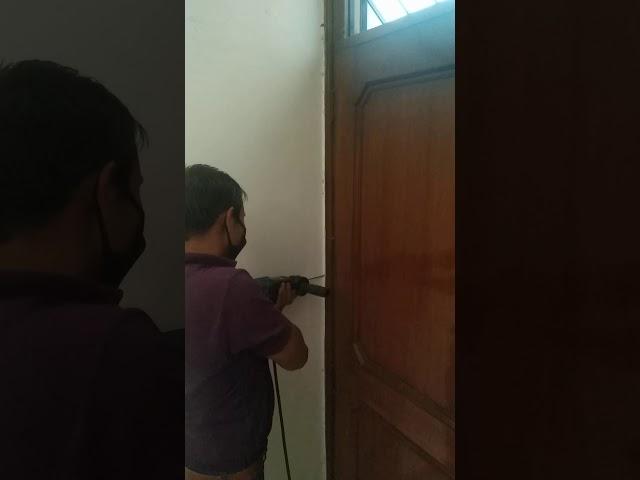 Termite treatment in door frames (Chowkats)