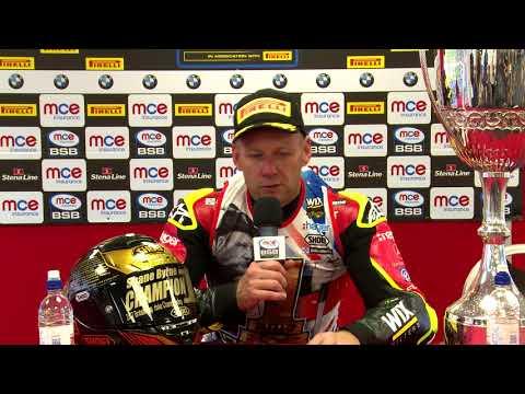 2017 MCE British Superbike champion Shane Byrne