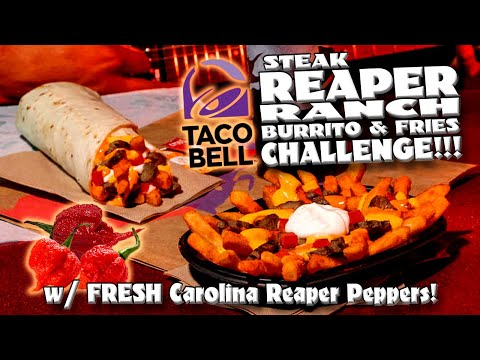 carolina reaper fries taco bell