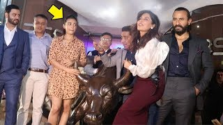 Radhika Apte JEALOUS Of Chitrangada Singh's H0T New Look With Saif Ali Khan At Bazaar Trailer Launch