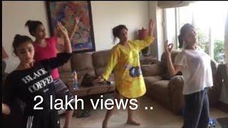 "Alia Bhatt Dancing on ""Choli ke peeche ""..Rehearsal video..Rick Brown choreography.."
