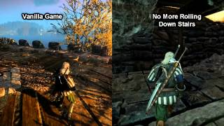 The Witcher 3: Wild Hunt - No More Rolling Down Stairs