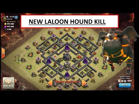 NEW TH9 OP ATTACK. LALOON MAX TH9 POST UPDATE!!!