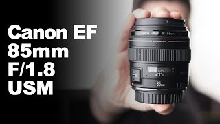 Canon EF 85mm f/1.8 USM - REVIEW