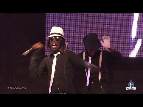 VAMPINO performing LINDA Live at Galaxy FM Zzina awards 2017