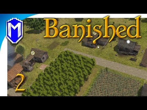 Banished - Clothes And Domesticated Animals - Let's Play Mod