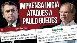 Imprensa inicia ataques a Paulo Guedes, economista de Bolsonaro | por Kim Kataguiri