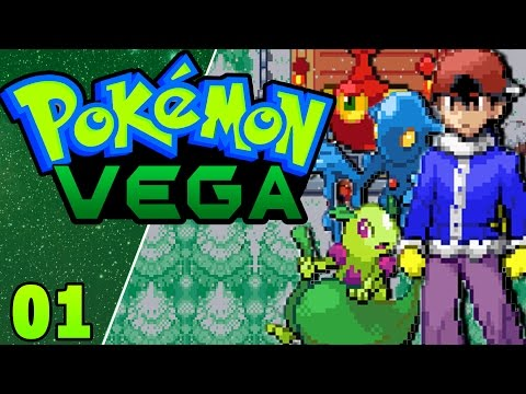Pokemon VEGA ENGLISH (Rom Hack) Part 1 THESE STARTERS! Gameplay Walkthrough