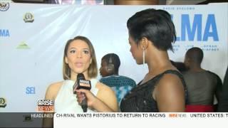 Keturah interviews David Oyelowo and Carmen Ejogo at the premire of 39Selma39