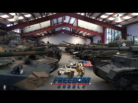 World's Largest Private Military Tank Collection - Amazing Tour!
