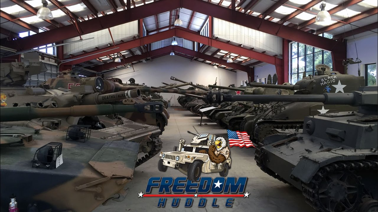 World 39 S Largest Private Military Tank Collection Amazing