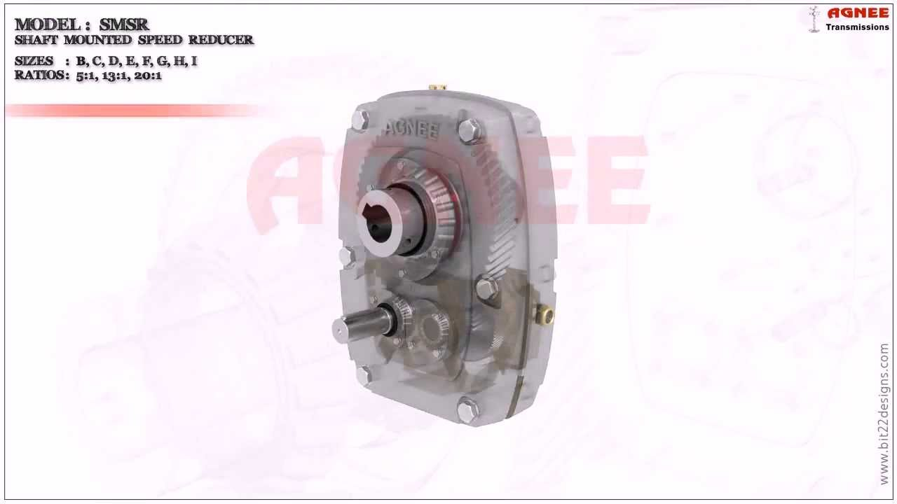Speed reducers for roller conveyors reducer