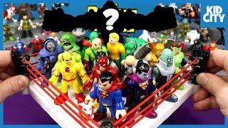 Justice League Toys & Imaginext Batman Toys Shake Rumble & Unboxing | KIDCITY
