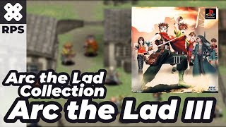 New Game - Arc the Lad Collection Arc the Lad 3 - Gameplay - No Commentary (PSX - ePSXe)