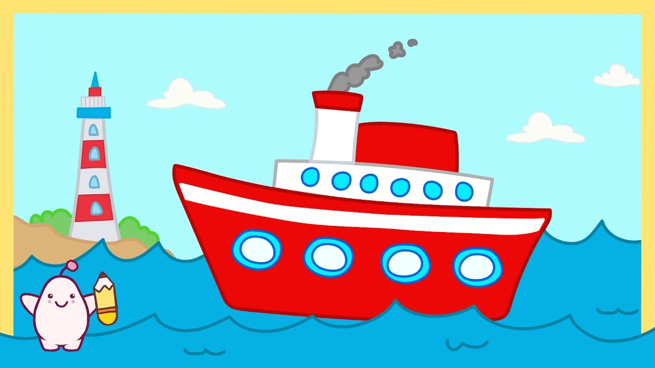 Gemi çizim şarkısı Nasıl çizilir Mimi Bebek şarkıları