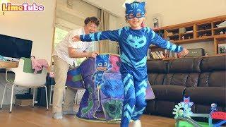 라임의 변신 파자마 삼총사supermarket song nursery rhyme | LimeTube toy review