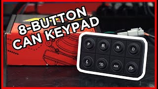 homepage tile video photo for TAKE CONTROL! AEM EV 8-Button CAN Keypad!