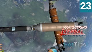 Kerbal Space Program [1.1.2] - Ep 23 - EVA Refueling Mission - Let