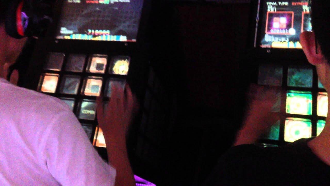Taipei Taiwan Arcade - JuBeat Rhythm Game