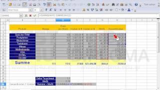 Korrigieren Sie den Fehler der Formel in der Zelle D20 im Arbeitsblatt (Tabelle) 2 Stunde.