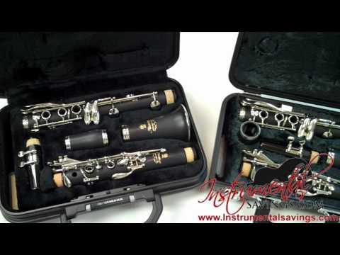 Yamaha YCL-250 & YCL-200AD Clarinet