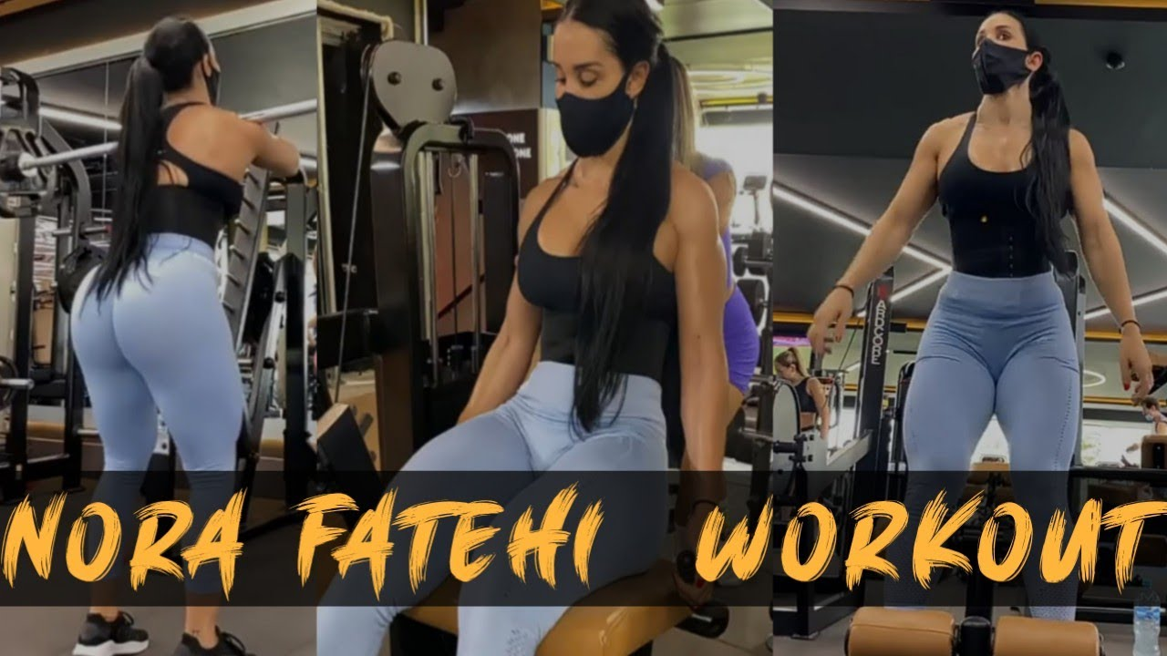 Download Nora Fatehi Workout in Gym