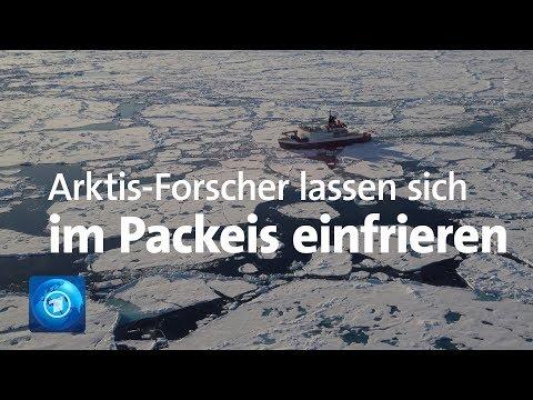 """Spektakuläre Arktis-Expedition der """"Polarstern"""""""