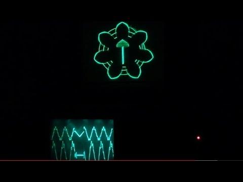 Tektronix Oscilloscope Music