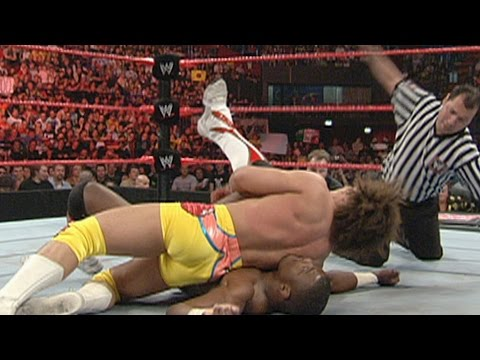 Ric Flair & Carlito vs. The World's Greatest Tag Team: Raw, April 16, 2007 (WWE Network Exclusive)