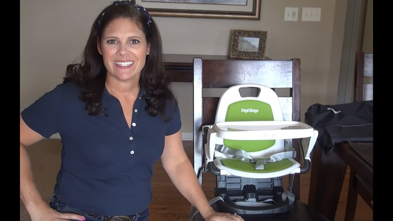 Peg Perego Rialto Booster Seat Review - YouTube