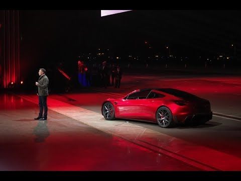 New Tesla Roadster 2020. Elon Musk has finally unveiled it!