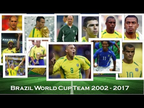 Brazil 2002 World Cup Winning Team - Then And Now (2017)