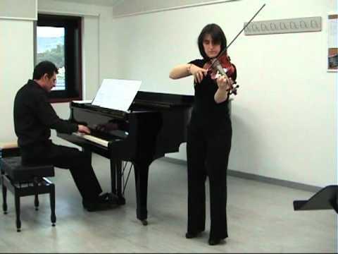 La Vida Es Bella Violín Y Piano Youtube
