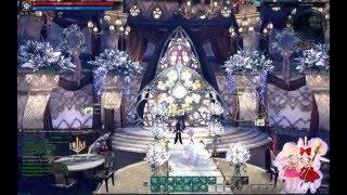 Свадьба в Tera Online. Микору и Элизандра