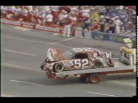 Jimmy Means at Hendrick Motorsports - Charlotte 1987