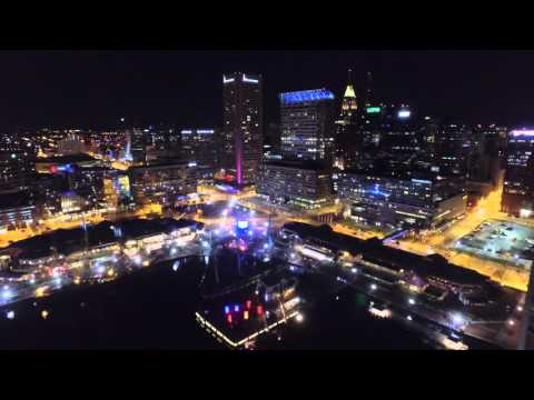 Light City Baltimore - Drone Movie