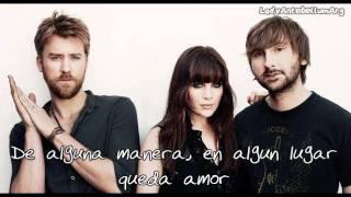 Somewhere Love Remains - Lady Antebellum - Español