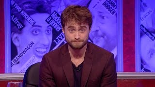 Daniel Radcliffe attempts to read German - Have I Got News for You: Series 49 Episode 1 - BBC One