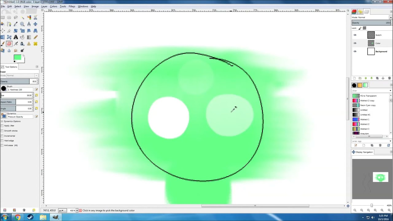 How To Draw In Gimp Using A Mouse