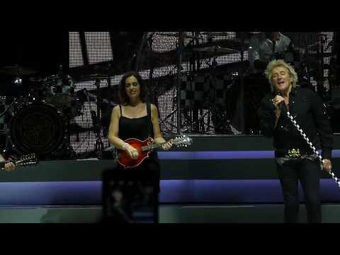 """""""Maggie May"""" Rod Stewart@BBT Pavilion Camden, NJ 7/12/17"""