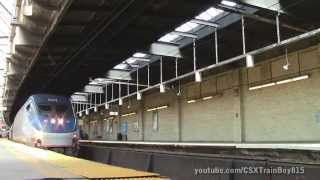 2 hours of Amtrak and NJ Transit at Newark Penn Station with ACS-64 601