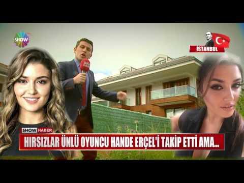 Hırsızlar ünlü oyuncu Hande Erçel'i takip etti ama...