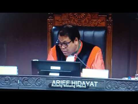 Sidang MK Sengketa Pilkada Sampang 2018