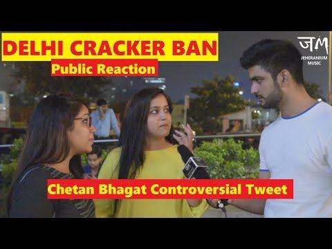 Cracker Sale Ban in Delhi NCR | Chetan Bhagat Controversy | Public Hai Ye Sab Janti hai | JEHERANIUM