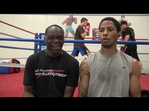 Deaf Boxer Raymond Merril on impending pro debut, the difficulties it presents. w/ Jeff Mayweather